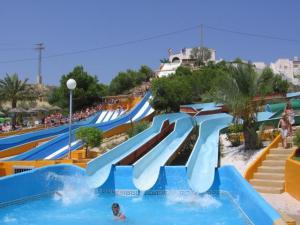 Aqua Natura water park Murcia. pools, lazy river, slides, Zanzibar, solarium, water, fun, jacuzzi